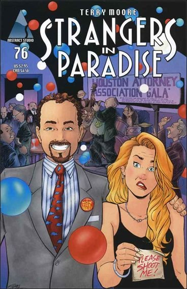 Couverture de Strangers in Paradise (1996) -76- No title