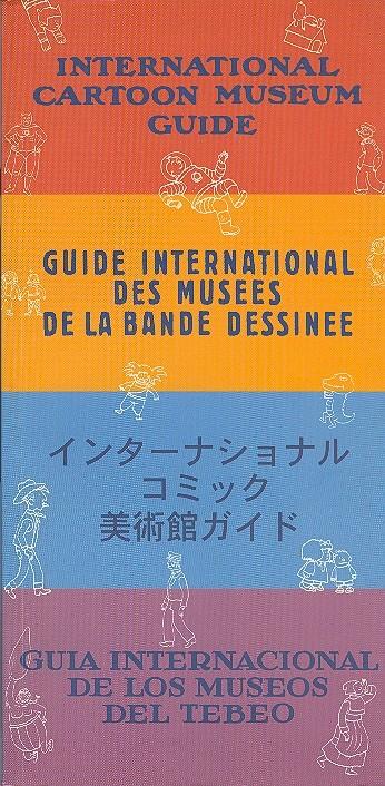 Couverture de (DOC) Études et essais divers - Guide international des musées de la bande dessinée