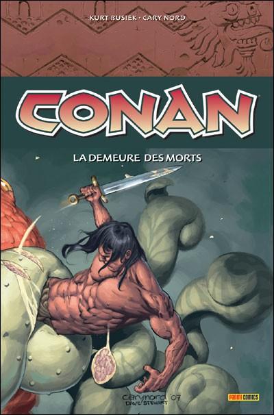 Couverture de Conan (Panini) -2- La demeure des morts