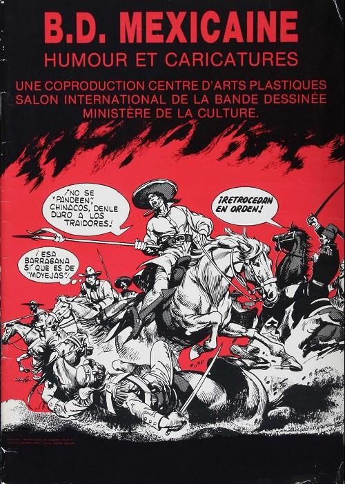Catalogues expositions b d mexicaine humour et for Salon de la bd angouleme