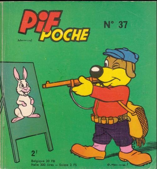 Couverture de Pif Poche -37- Pif poche n°37