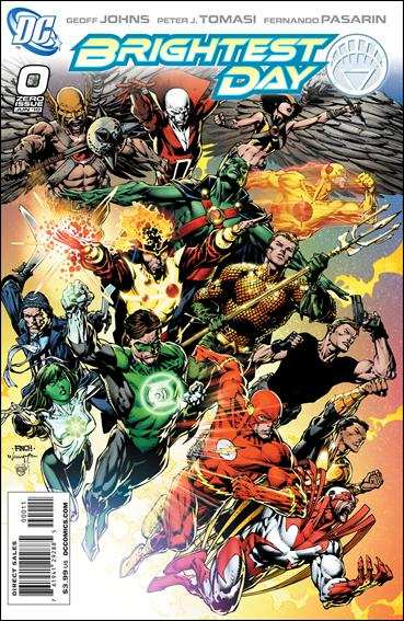 Couverture de Brightest Day (2010) -0- Carpe diem