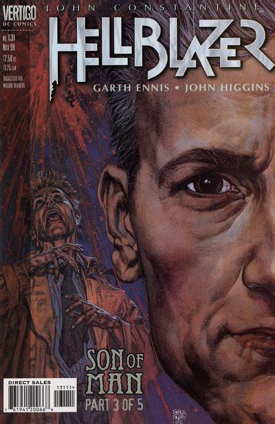 Couverture de Hellblazer (1988) -131- Son of man (part 3 of 5)