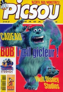 Couverture de Picsou Magazine -362- Picsou Magazine N°362