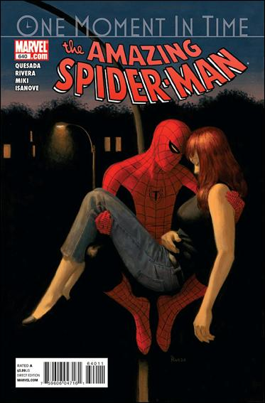 Couverture de Amazing Spider-Man (The) (1963) -640- One moment in time, chapter three : something borrowed