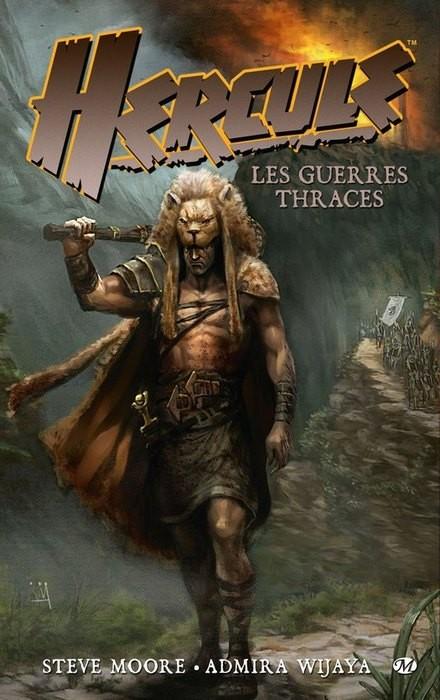 Couverture de Hercule (Milady) -1- Les Guerres thraces