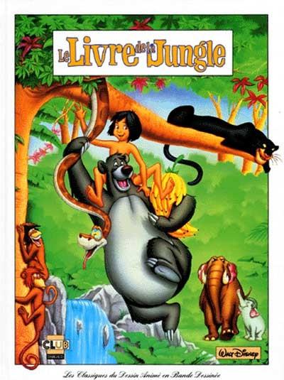 Les classiques du dessin anim 21 le livre de la jungle - Dessin livre de la jungle ...