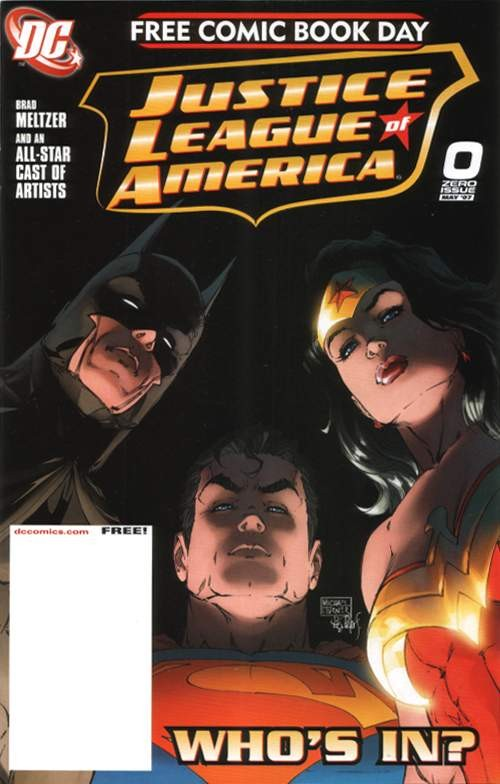 Couverture de Justice League of America (2006) -0- Yesterday, today, tomorrow
