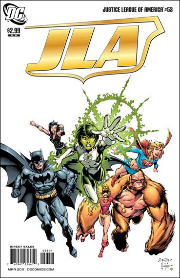Couverture de Justice League of America (2006) -53- Jla omega part 4 : finale