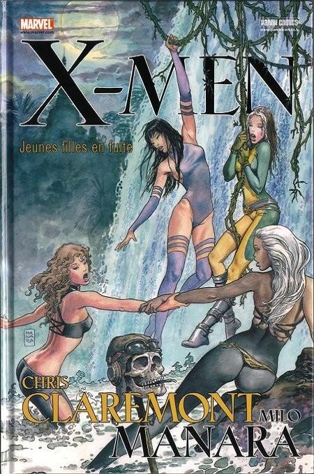 Couverture de X-Men : Jeunes filles en fuite