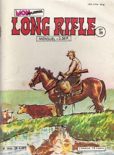 Couverture de Long Rifle -29- Cow-boys
