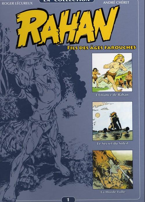 couverture de rahan la collection 1 lenfance de rahan - Le Mariage De Rahan