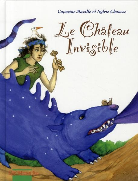 Le Château Invisible. one-shot tome 1. Editions Mosquito. Kids comics.