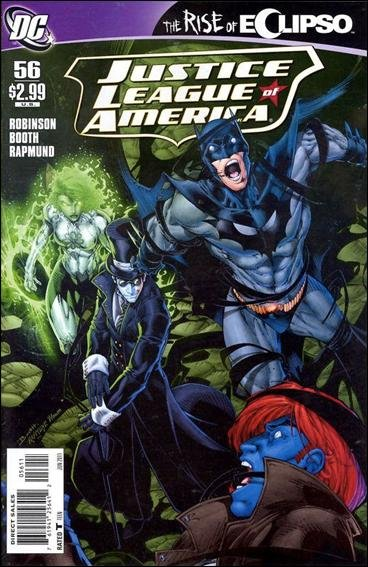 Couverture de Justice League of America (2006) -56- Eclipso rising part 3 : the battle for Emerald City