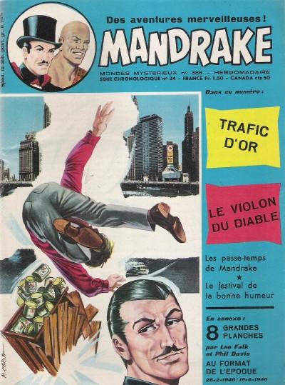 Couverture de Mandrake (1e Série - Remparts) (Mondes Mystérieux - 1) -388- Trafic d'or