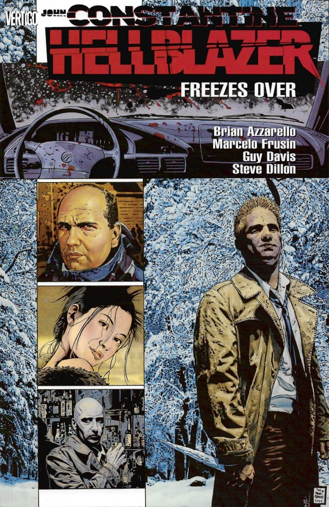 Couverture de Hellblazer (1988) -INT16- Freezes Over (#157-163)