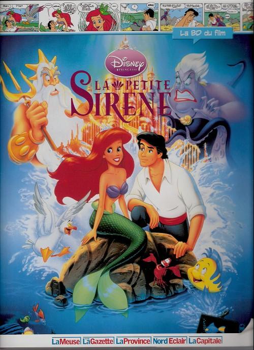 Disney (La BD du film) -21- La petite sirène