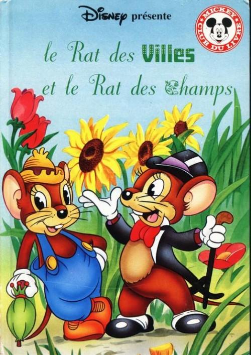 Couverture de Mickey club du livre -201- Le rat des villes et le rat des champs