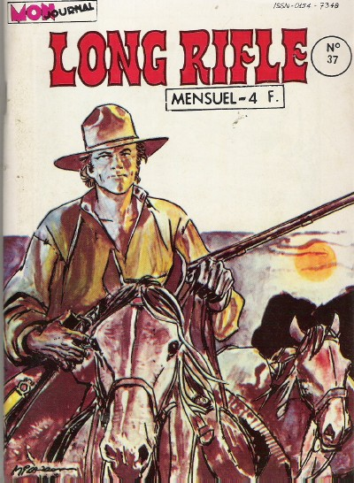 Couverture de Long Rifle -37- Sur la piste de Wichita Falls