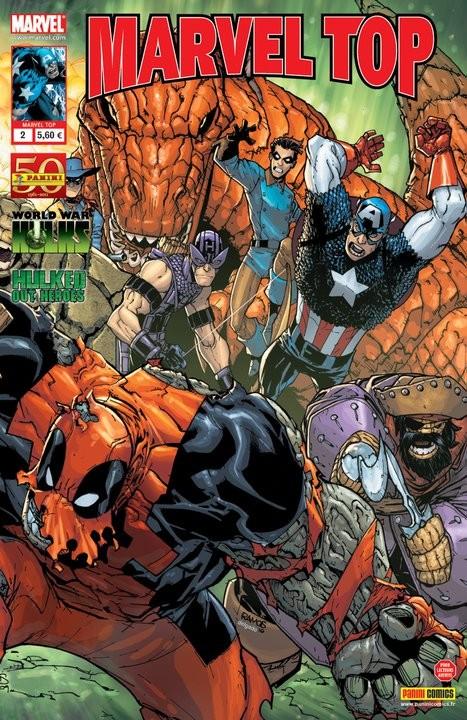 Couverture de Marvel Top (Marvel France 2e série) -2- Les héros