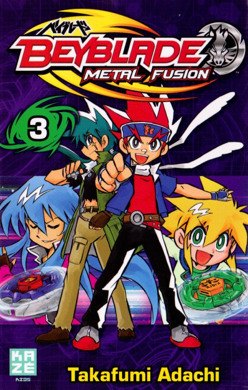 Couverture de Beyblade Metal -3- Tome 3 / Metal Fusion