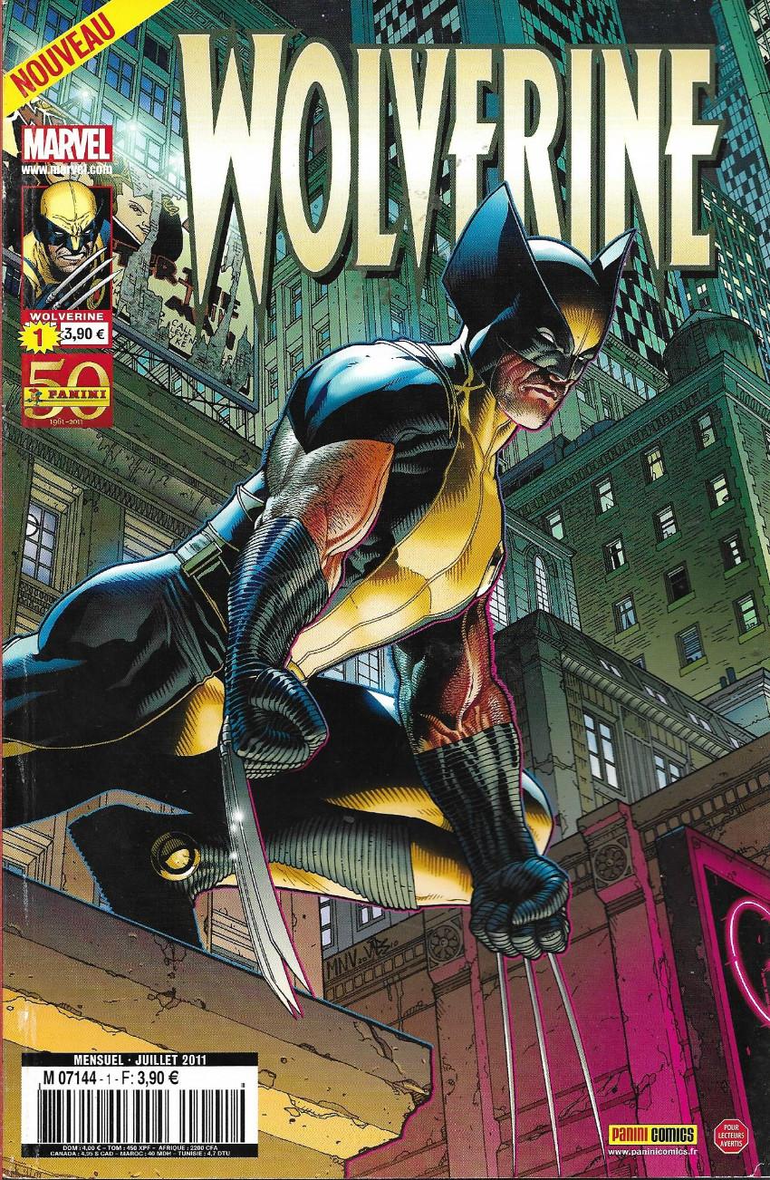 Couverture de Wolverine (Marvel France 2e série) -1- Wolverine en enfer (1/3)