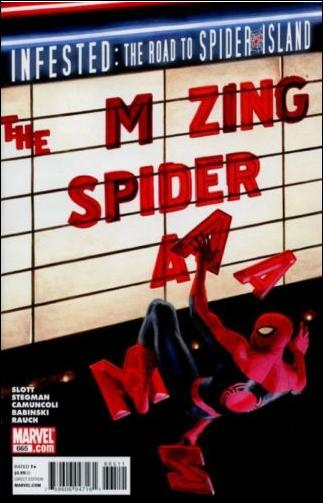 Couverture de Amazing Spider-Man (The) (1963) -665- Crossroads