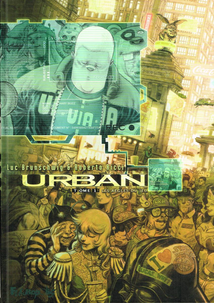 Couverture de Urban -1- Les règles du jeu
