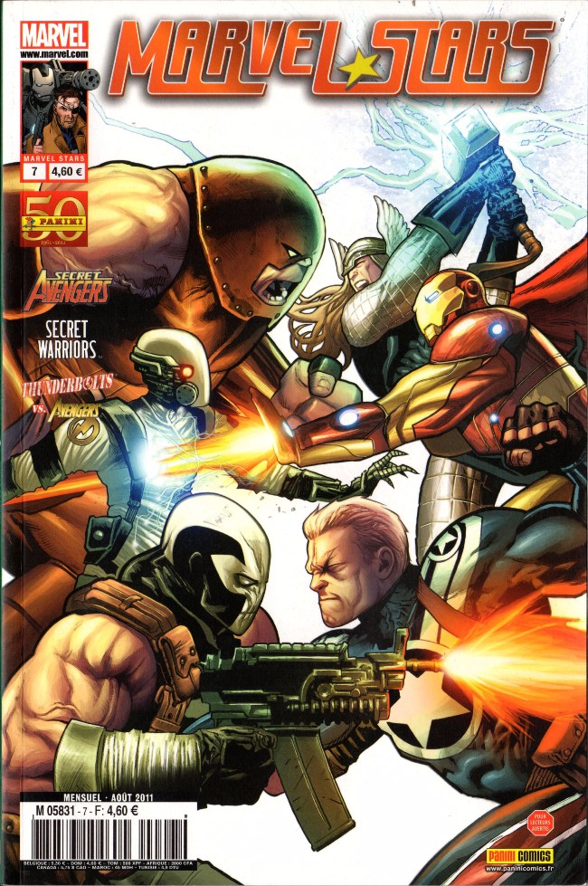 Couverture de Marvel Stars -7- Les retrouvailles