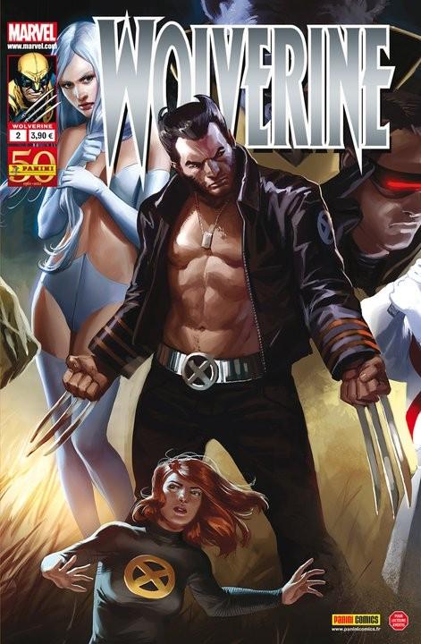 Couverture de Wolverine (Marvel France 2e série) -2- Wolverine en enfer (2/3)