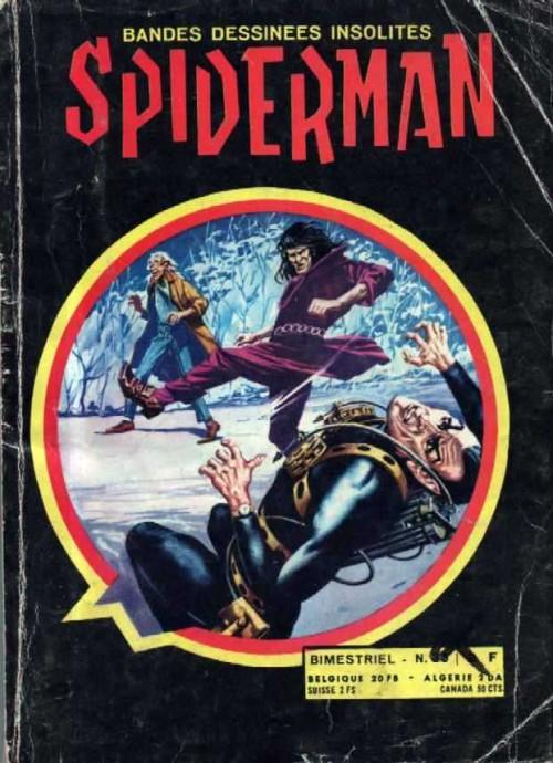 Spiderman bd insolites 33 pas de vacances pour l 39 homme araign e - Araignee rouge dangereux pour l homme ...