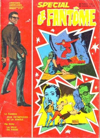 Couverture de Le fantôme (2e Série - Spécial - 1) -83- Jeux olympiques de la jungle