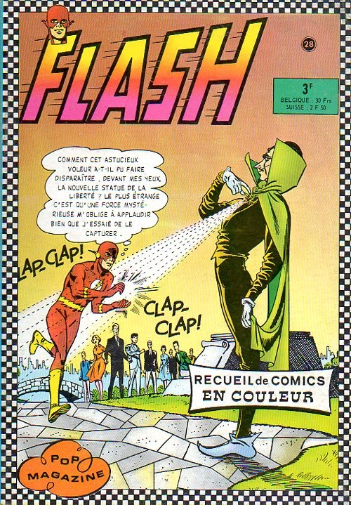 Couverture de Flash (Arédit - Pop Magazine/Cosmos/Flash) -REC- Recueil flash n° 28