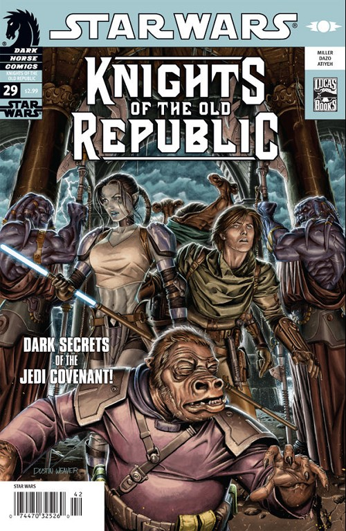 Couverture de Star Wars: Knights of the Old Republic (2006) -29- Exalted 1