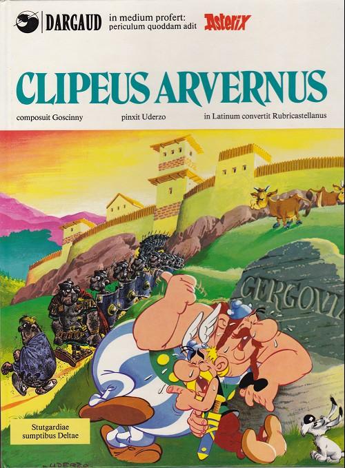 Couverture de Astérix (En latin) -11- Clipeus arvernus