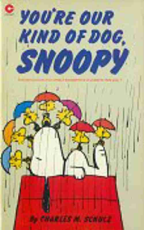 Couverture de Peanuts (Coronet Editions) -65- You're our kind of dog, snoopy