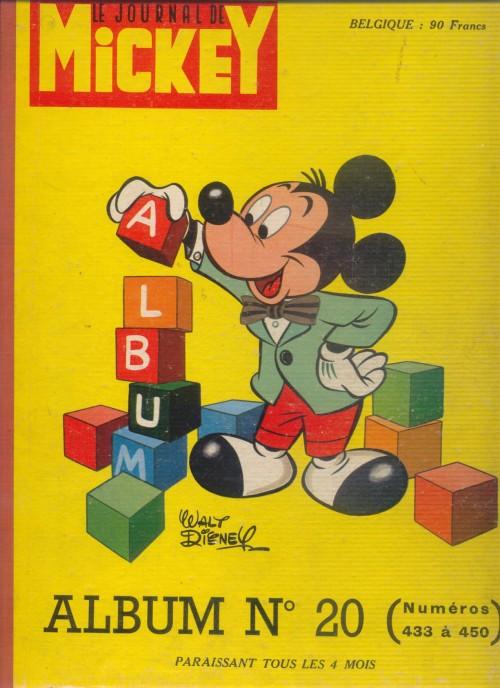 Couverture de (Recueil) Mickey (Le Journal de) -20- Album n°20 (n°433 à 450)