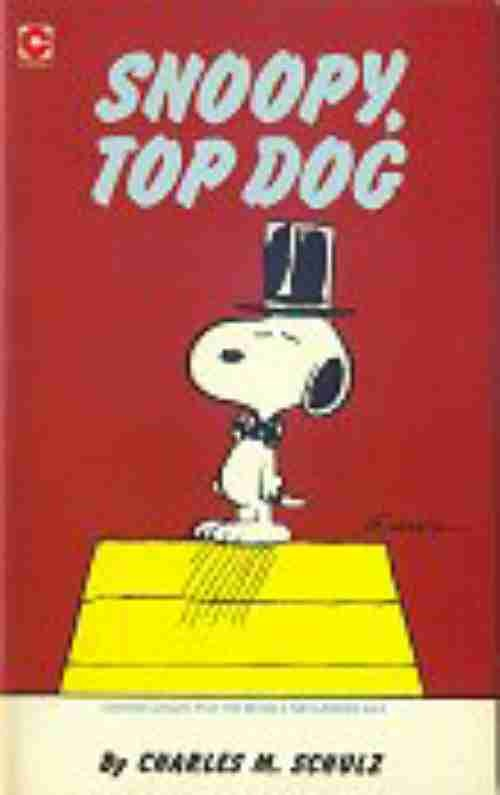 Couverture de Peanuts (Coronet Editions) -64- Snoopy, top dog