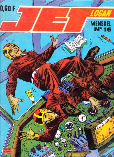 Couverture de Jet Logan (puis Jet) -16- Quand la Terre gèlera