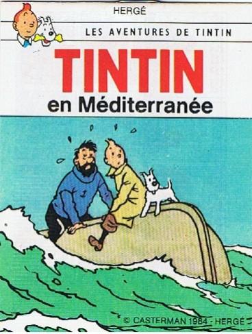Couverture de Tintin - Publicités -9Sco5- Tintin en Méditerranée