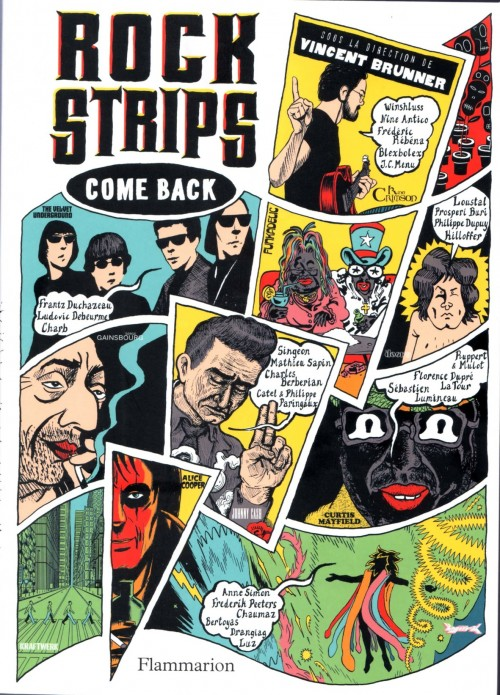 Couverture de Rock strips - Come Back