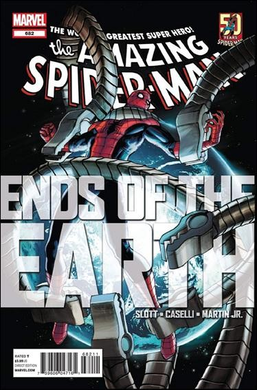 Couverture de Amazing Spider-Man (The) (1963) -682- Ends of the earth