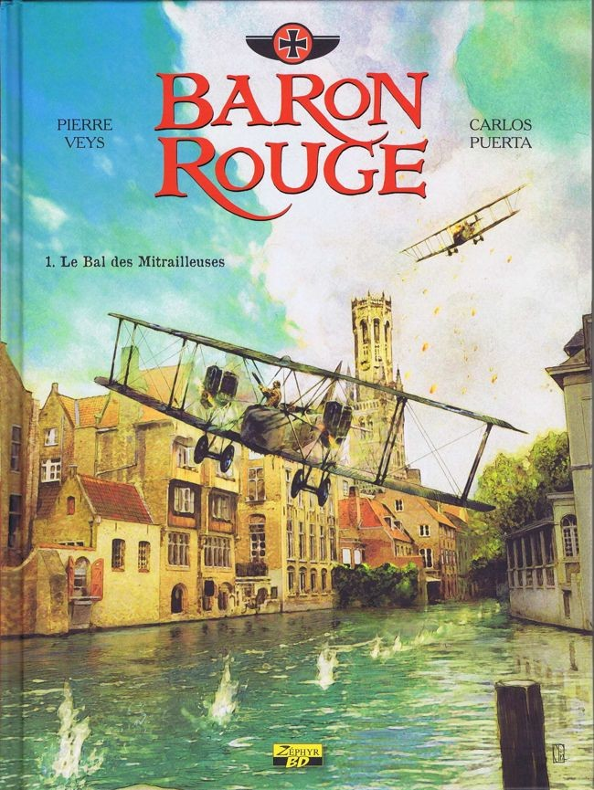Baron Rouge - 3 tomes