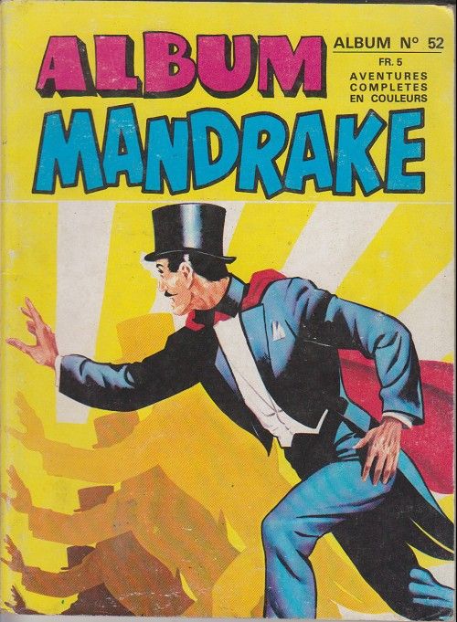Couverture de Mandrake (1e Série - Remparts) (Mondes Mystérieux - 1) -REC52- Album n° 52