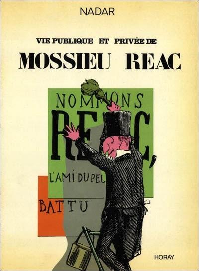 Couverture de Vie publique et privée de Mossieu Réac