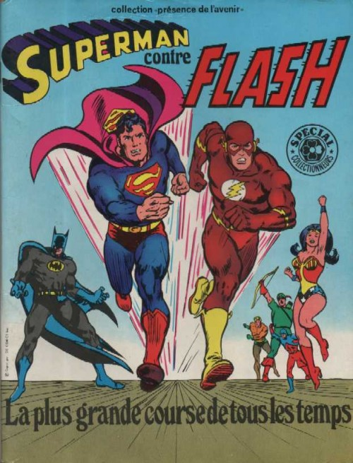 Couverture de Superman (Sagédition - Présence de l'avenir) -4- Superman contre Flash