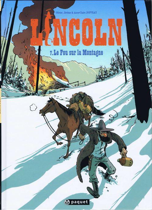Couverture de Lincoln -7- Le Fou sur la Montagne
