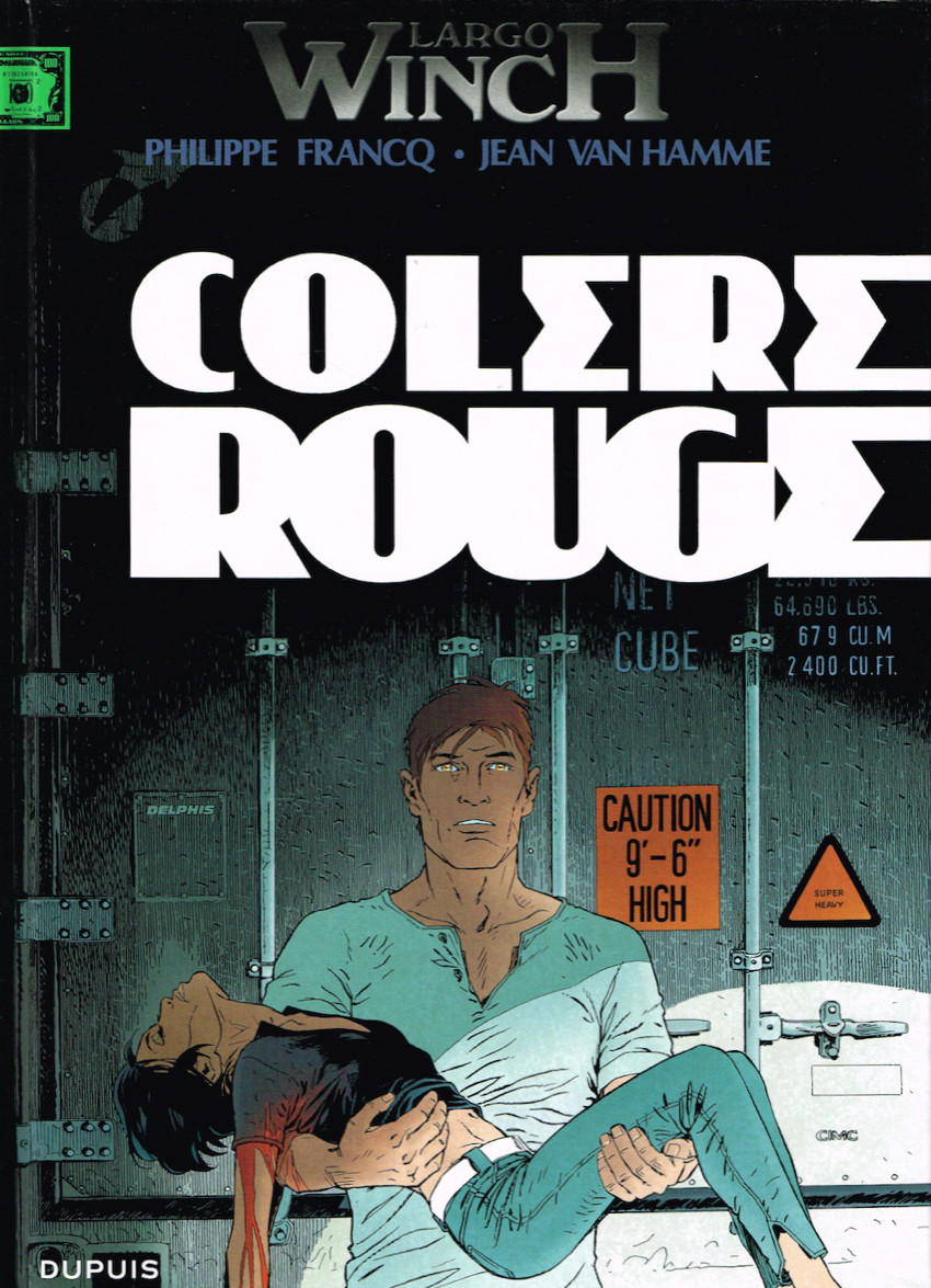Largo Winch - T18 - Colère rouge