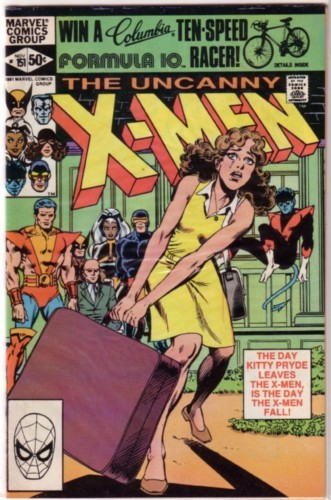 Couverture de Uncanny X-Men (The) (1963) -151- X-Men minus one!