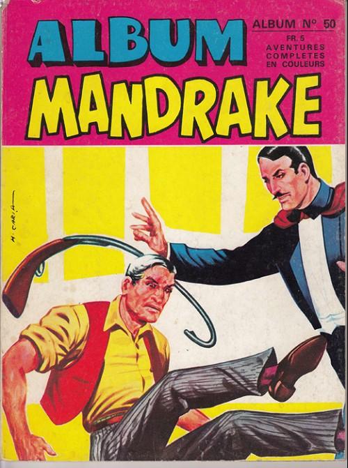 Couverture de Mandrake (1e Série - Remparts) (Mondes Mystérieux - 1) -REC50- Album n° 50